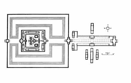 Banteay Srei Temple Plan