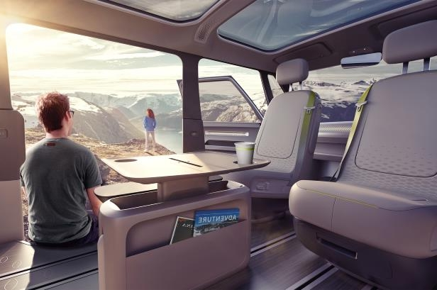Volkswagen showcased the next generation MPV ID BUZZ