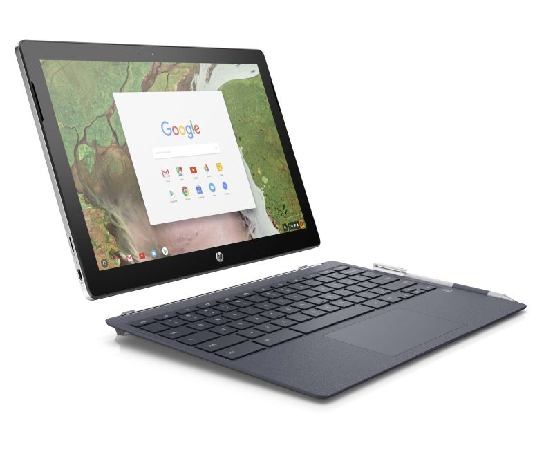 HP Chromebook x2 front right detached