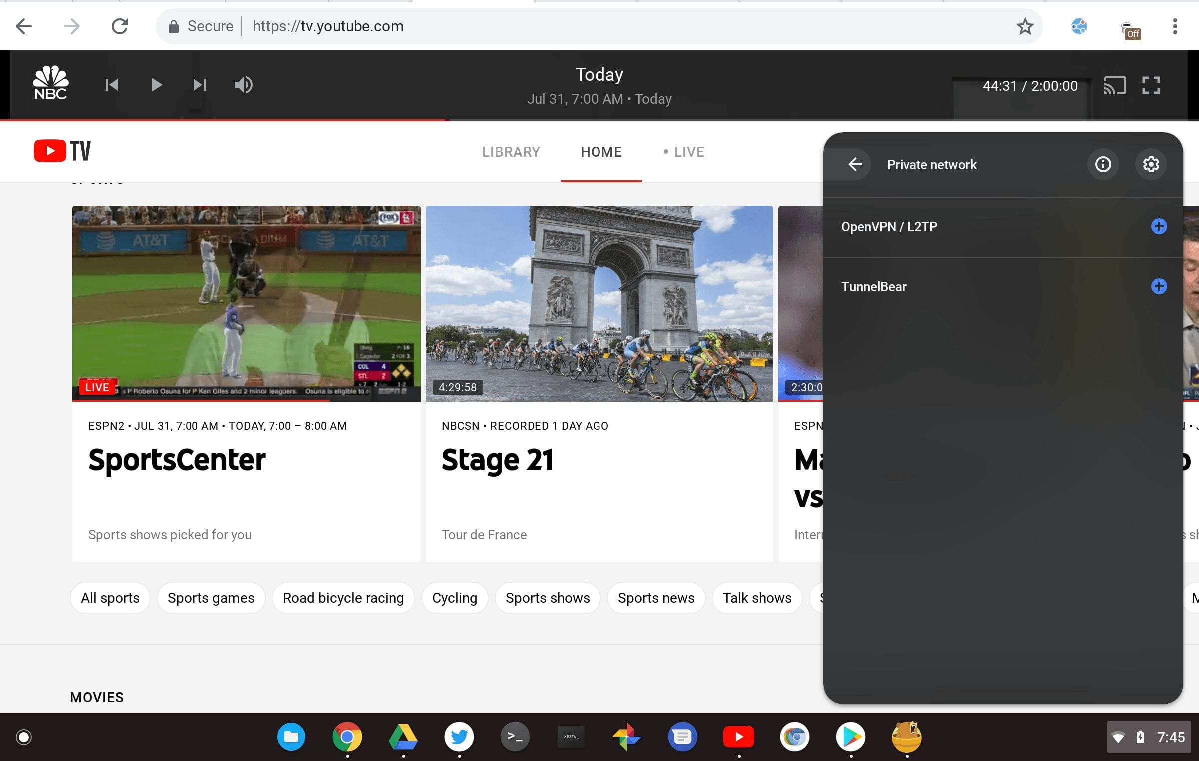 Chrome OS to bring Android VPN support for Linux apps on Chromebooks