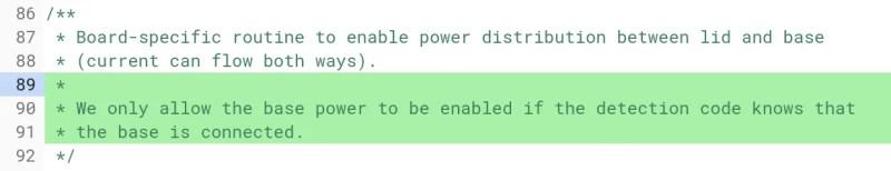 wand base power detection