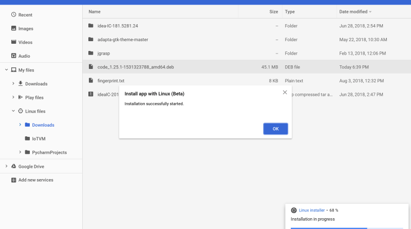 how to install dropbox on chromebook