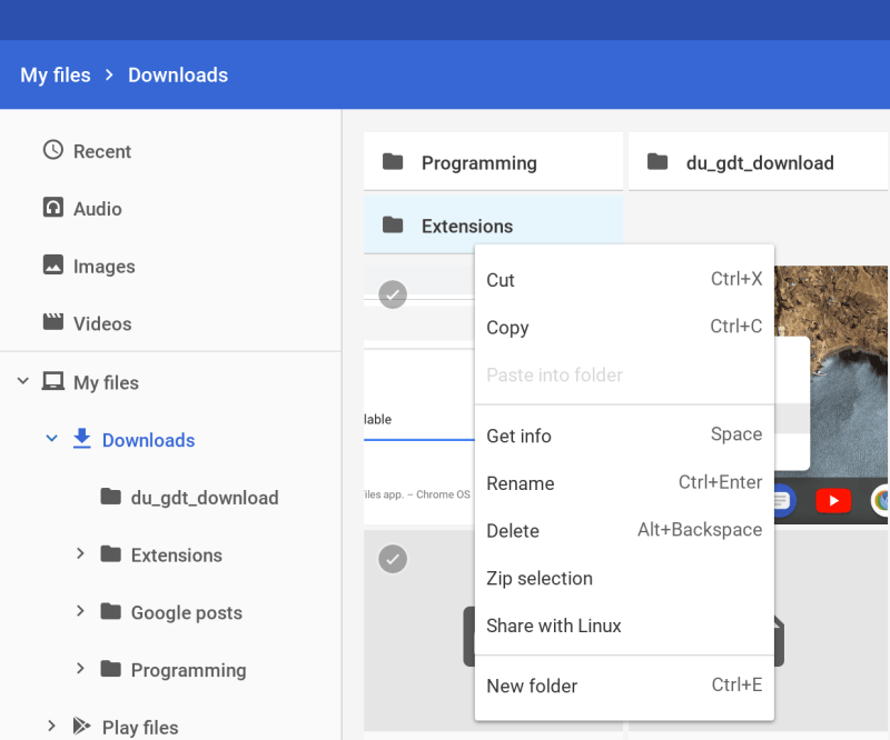 Project Crostini gets new features, fixes in Chrome OS 71