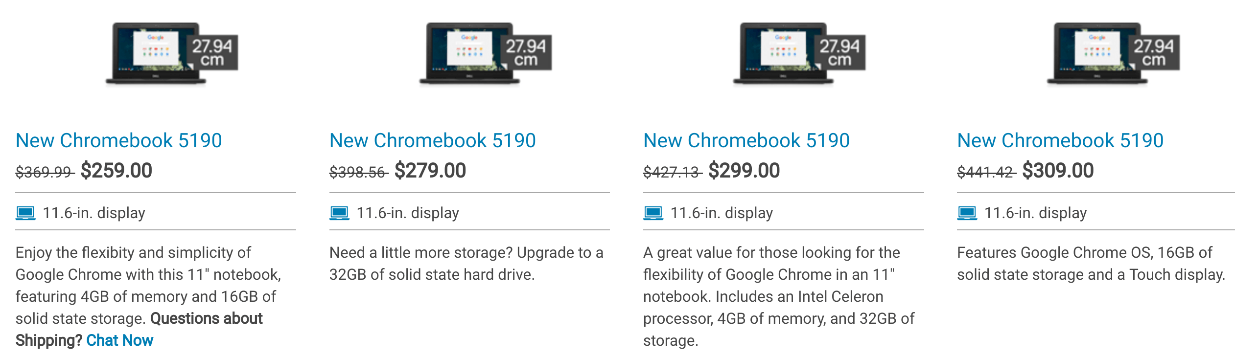Dell 5190 Chromebook – About Chromebooks