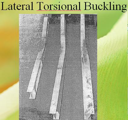 Design of Steel Beam for Lateral Torsional Buckling