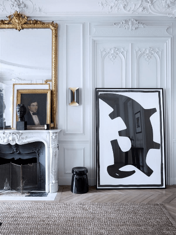 Stylish apartment in Paris by Gilles & Boissier