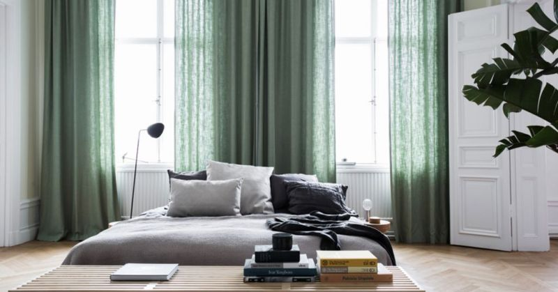 Swedish apartment of high aesthetics and personality