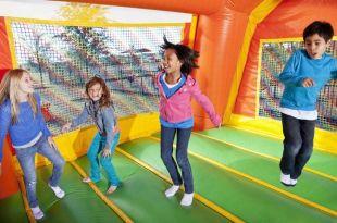 Milwaukee Bouncy House Adds Fun To Juniors' Life