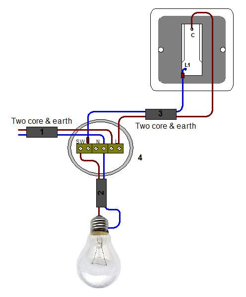 2 Gang Light Switch Wiring Diagram Uk On 2 Images Free Download