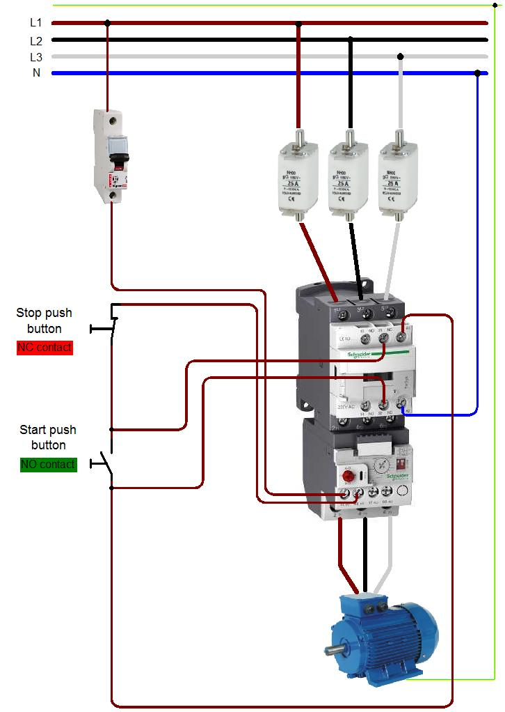 wiring diagram of contactor nema l14 30p 2 circuit a manual e books schematic diagramaboutelectricity co uk diagrams electrical photos movies abb contactors