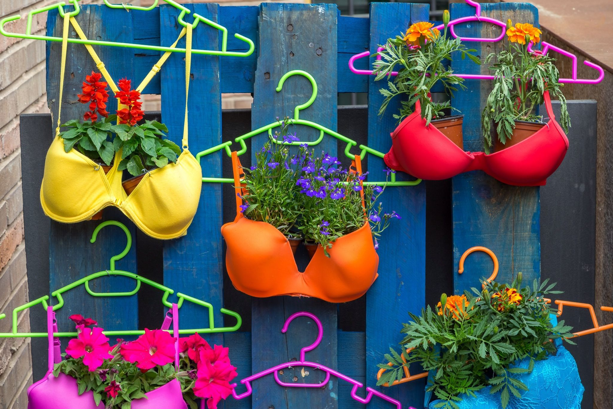 Jardines creativos 12 objetos reciclados convertidos en
