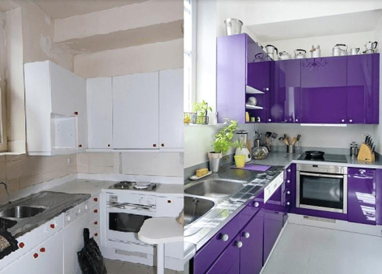 Cmo pintar los muebles de cocina