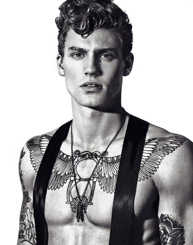 8 Modelos Masculinos Tatuados Que Triunfan En Las Pasarelas Y Revistas