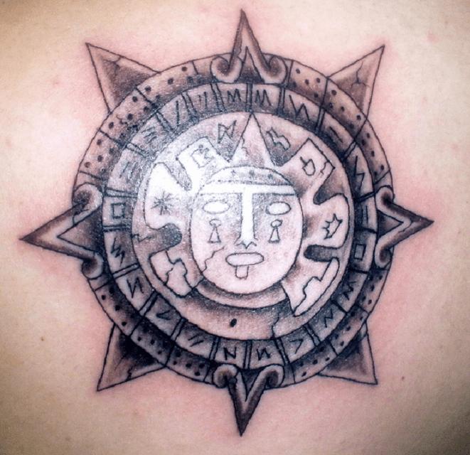 6 Tatuajes De Símbolos Aztecas Y Mayas