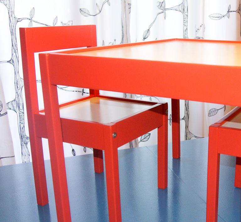 4 pasos para pintar un mueble de madera