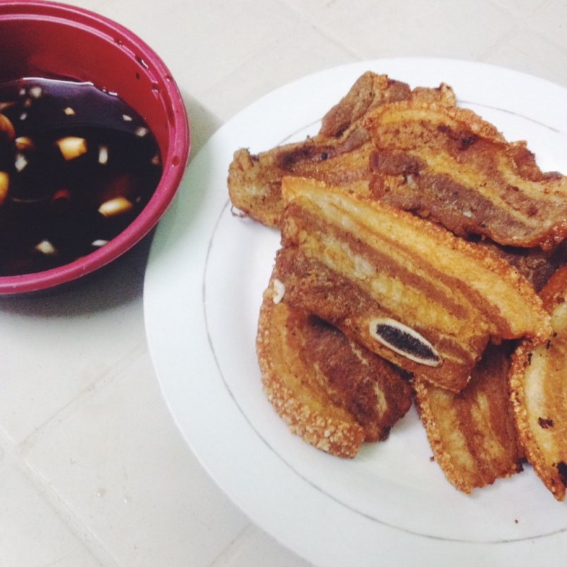 Filipino pork chop