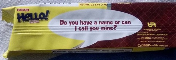 jack n jill u0026 39 s hello wafers  hugot quotes on wrappers