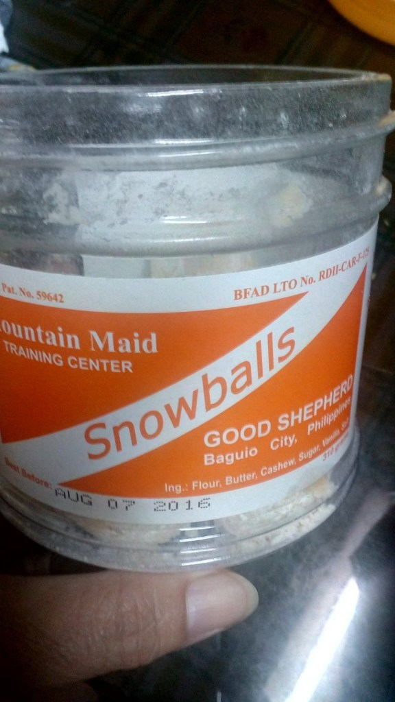 Good Shepherd Convent's Snowballs. Photo by Mildred Cruz.
