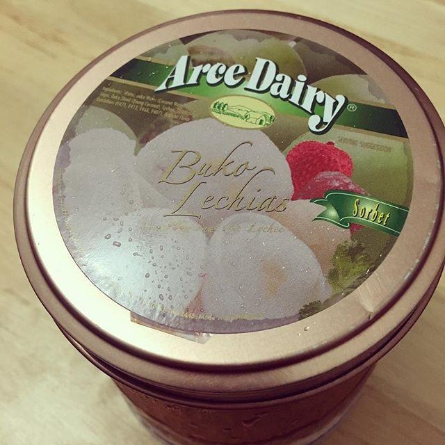 Arce Dairy's Buko Lechias Sorbet
