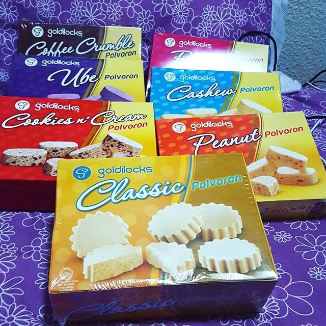 Goldilocks Polvoron: Different Flavors