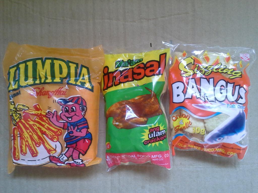 Ulam Crackers Filipino Food