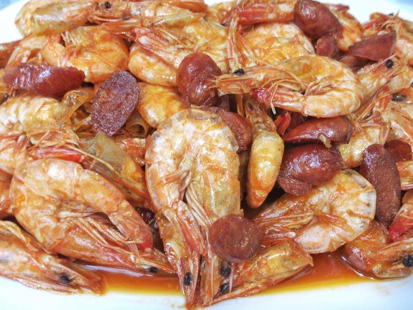 Shrimp & Chorizo