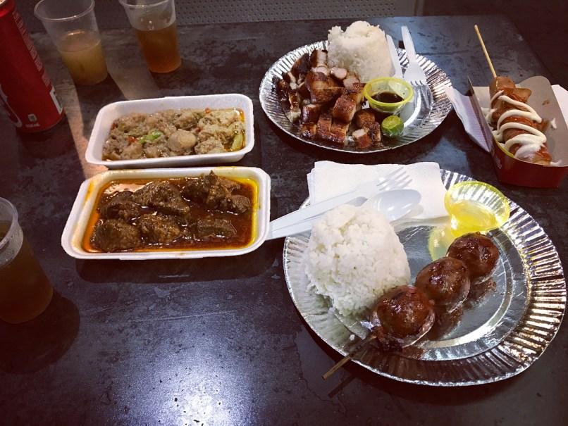 Thunder Eats Filipino Food!