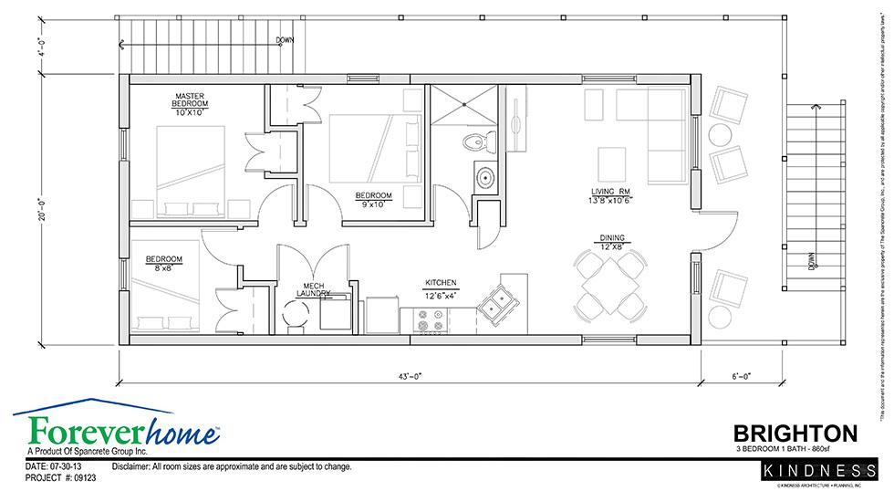 Brighton Floor Plan Foreverhome