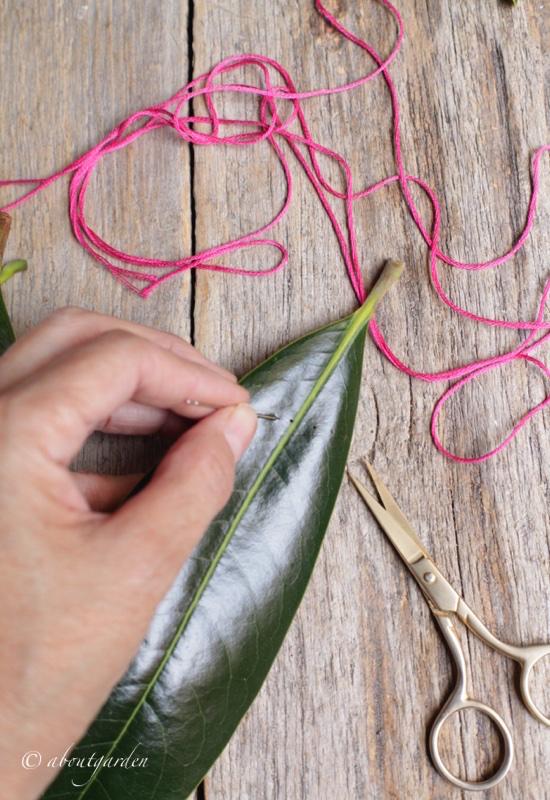 forare-buntng-foglie-per-dmc