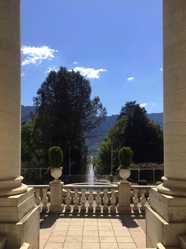 Grand Hotel Imperialò scorcio Parco