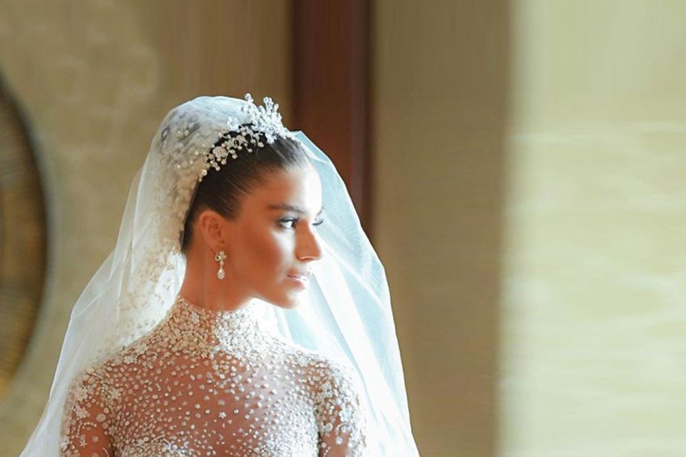 Lara Scandar Wears The Most Disney Esque Of Wedding