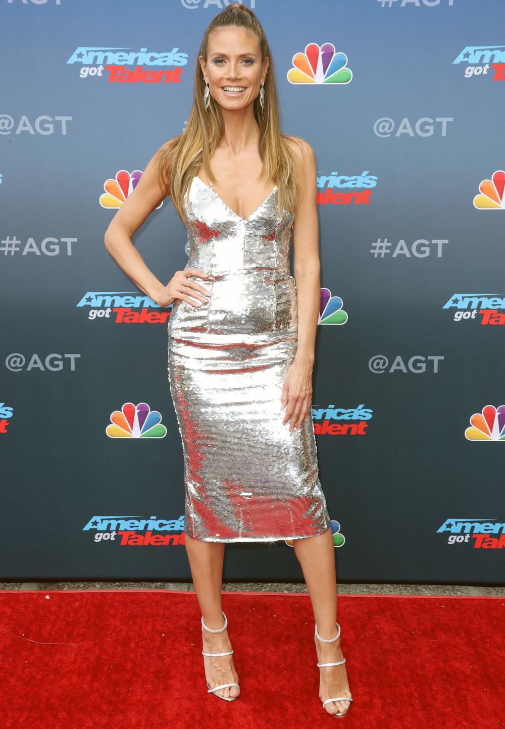 Heidi Klum At The Americas Got Talent TV Series Kickoff