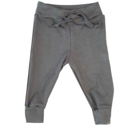 Wooden Buttons broekje met koord grijs