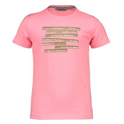 Moodstreet t-shirt sparkling pink