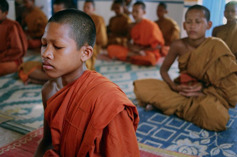 Meditate like a monk
