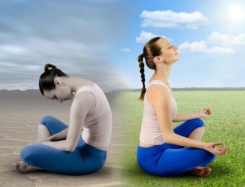 Struggling in meditation