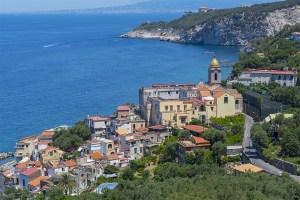 Panoramica di Massa Lubrense - About Sorrento