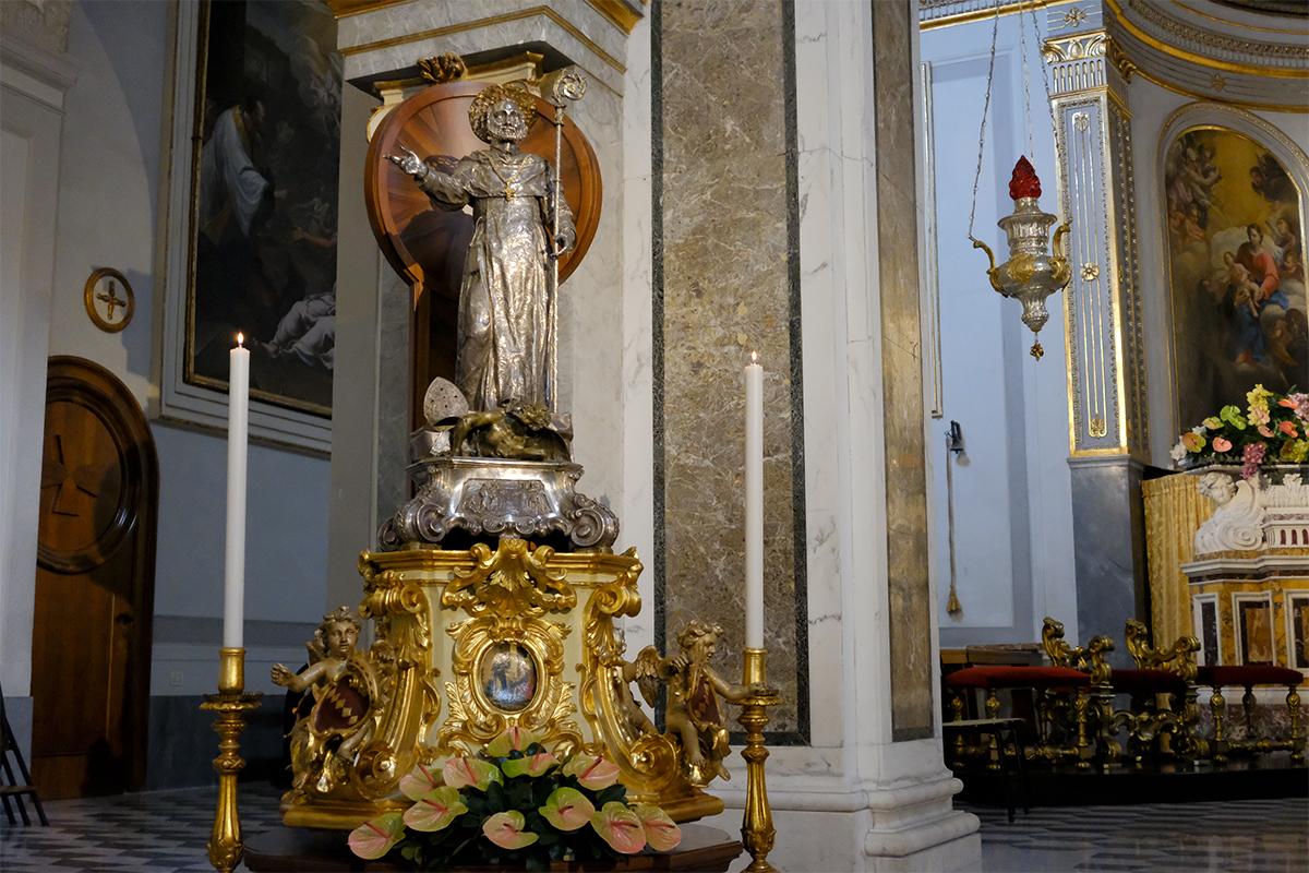 Statua Processione Sant'Antonino - Sorrento