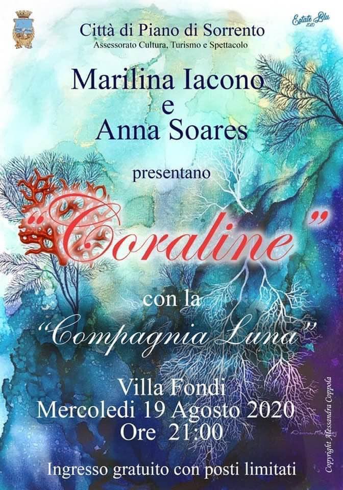 Coraline a Piano di Sorrento Marilina Iacono e Anna Soares