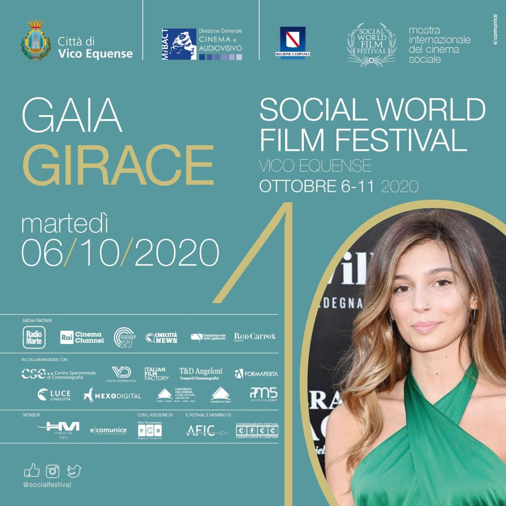 Social World film festival gaia Girace