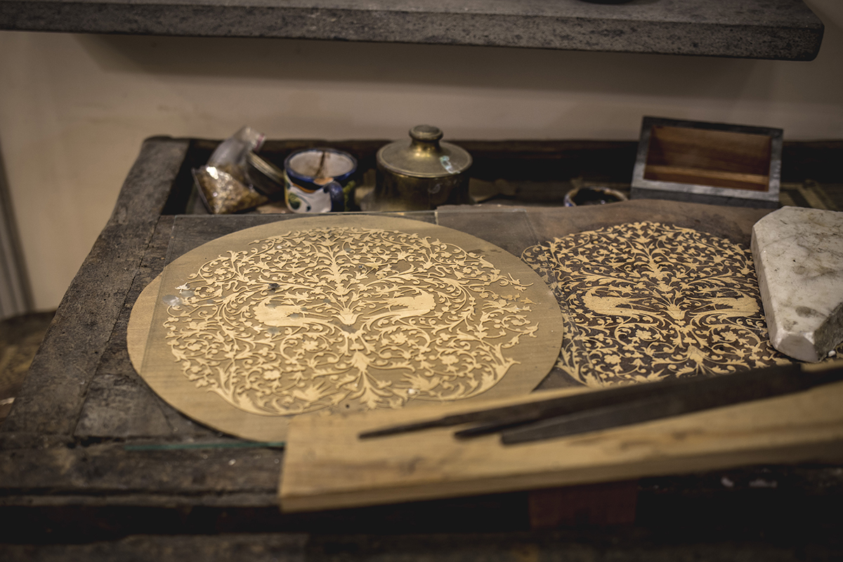 Intarsio legno About Sorrento