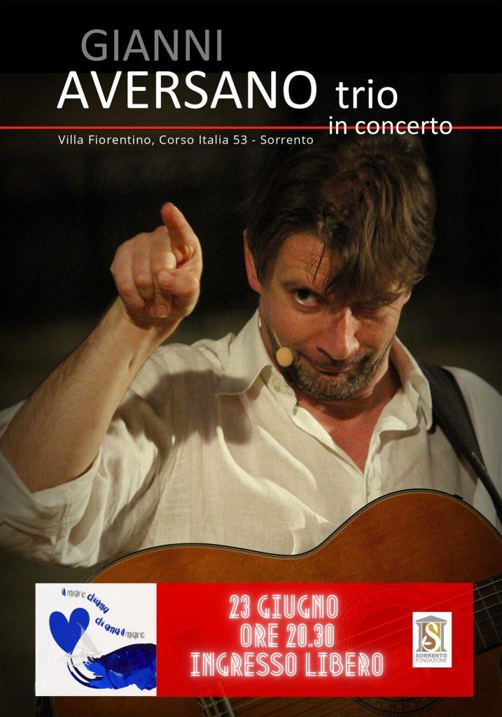 Eventi Estate 2021 Sorrento Concerto Gianni Aversano