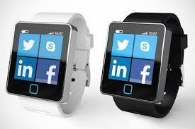 Apps run by a smart watch