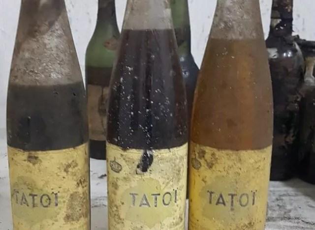 Во дворце Татой обнаружена уникальная коллекция вин