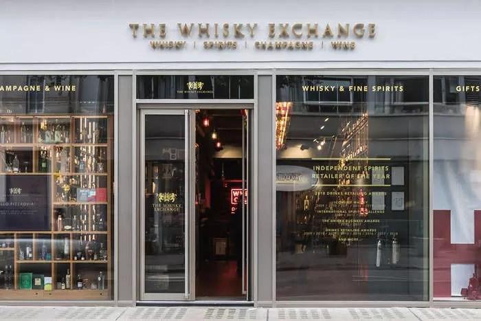 The Whisky ExchangeперешелвовладениеPernod Ricard