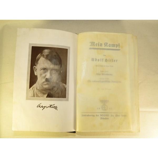 Adolf Hitler  Mein Kampf Original issue 254258 Auflage from 1937 Books Magazines Newspapers