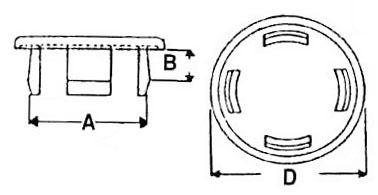 62PP043BG17 Binder, Hole Plugs