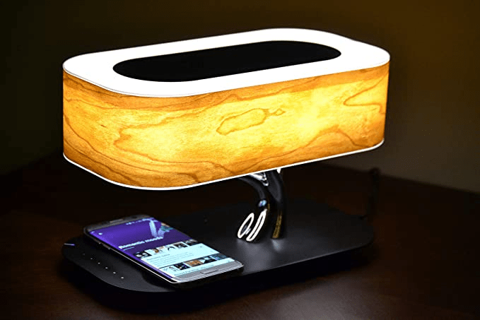 Lamp with Mobile Phone Wireless Charger 2021