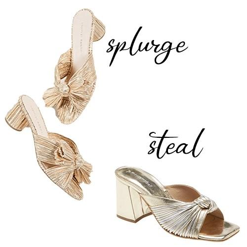 Designer Inspired Loeffler Randall sandals