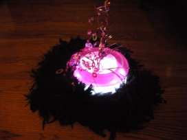 We can even add lights to make your centerpiece glow with fun
